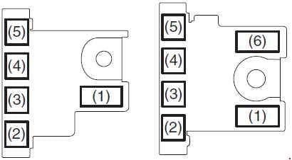Suzuki Ertiga - fuse box diagram - engine compartment