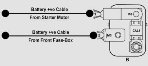 TATA Tigor - fuse box -  battery