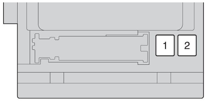 Toyota Highlander Hybrid - fuse box - instrument panel (front side of fuse block)