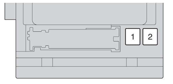 Toyota Highlander mk2 - fuse box - instrument panel (front side of fuse block)