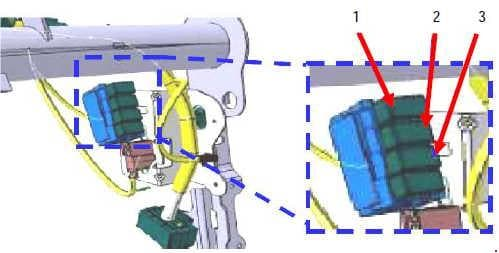 Vauxhall Movano - fuse box diagram - optional fuse box
