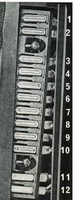Volvo 140 - fuse box - instrument panel